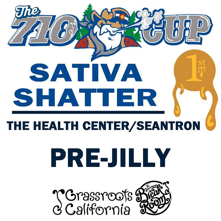 Pre-Jilly 1st Place Sativa Shatter